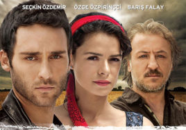 dokhtari ba roosari ghermez turkish series